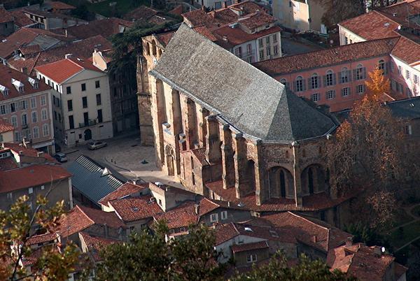 L'abbatiale Saint-Volusien à Foix